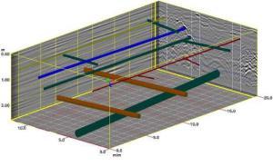 Détection et localisation des réseaux : vue en 3D sur RADAN 7 pour le pointé des objets