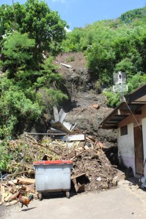 Diagnostic géotechnique suite à un glissement de terrain